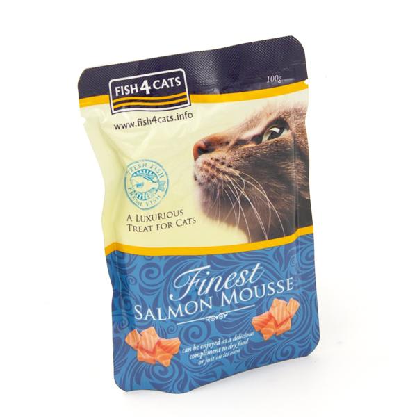 Finest Fish4Cats Zalmmousse
