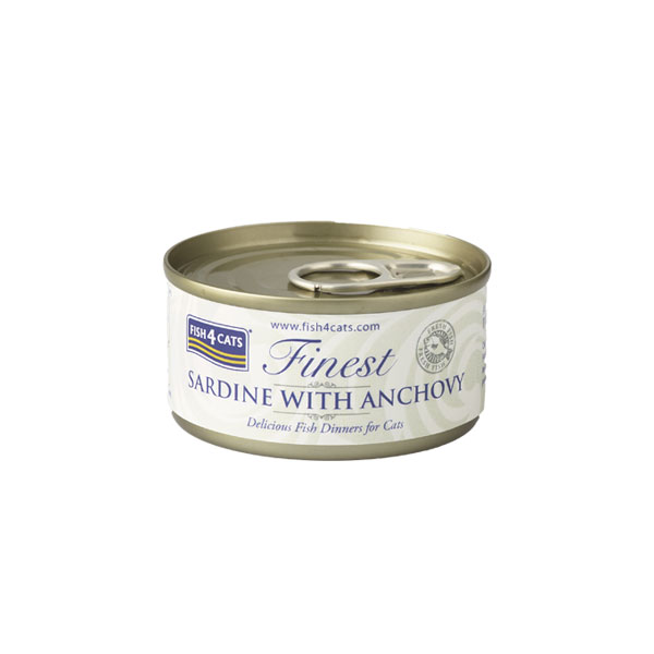 Finest Fish4Cats Sardine met Ansjovis