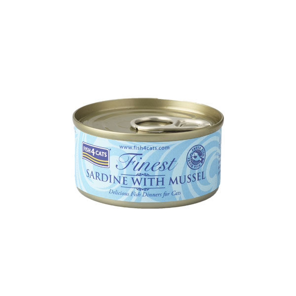 Finest Fish4Cats Sardine met Mosselen